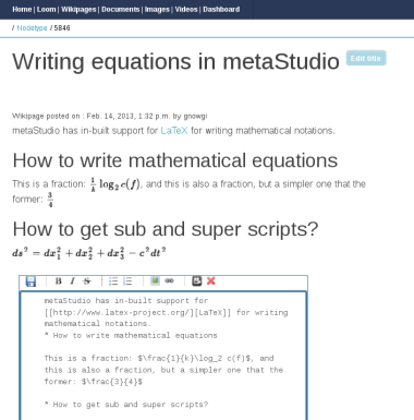 metastudio orgmode editor